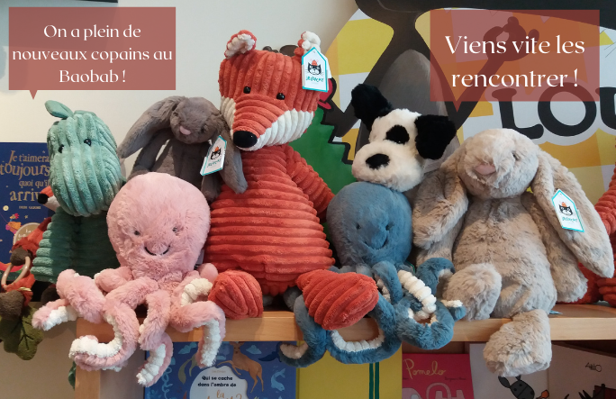 Banner peluches GSM